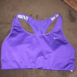 Purple Nike Sports Bra